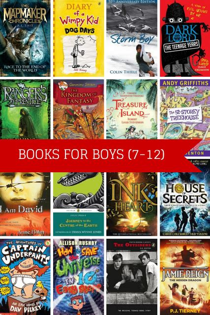the book of boys just for books 25 top books for boys 7 12 planning with