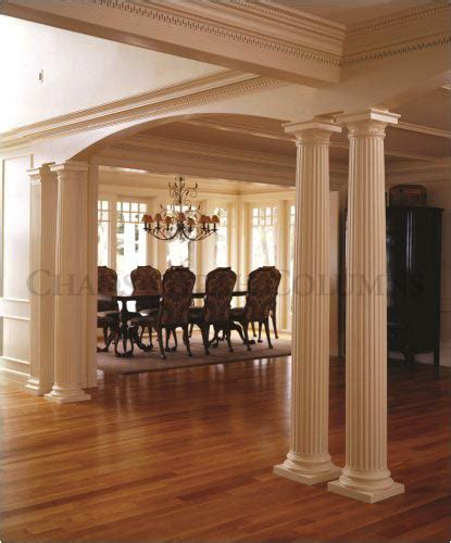 wooden columns interior house interior decorative roman doric wood columns this old house chadsworth columns