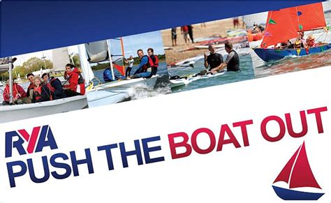 push the boat out alton water sports centre rya sailing windsurfing