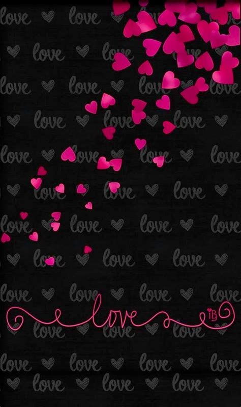 black love themes cell phone wallpaper background cell hearts love