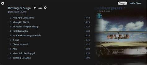 download mp3 album peterpan bintang di surga peterpan bintang di surga lagualbum