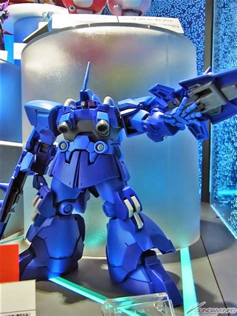 High Grade 1144 Build Fighter Dom R35 Rals Mobile Suit Ori Bandai gundam hgbf 1 144 dom r35 on display gunpla expo japan tour 2015 sendai