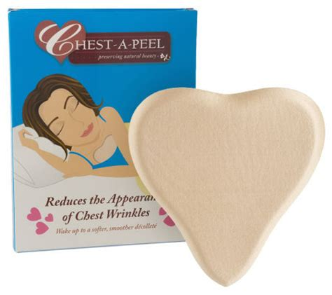 chest a peel pillow pad treatment for chest wrinkles