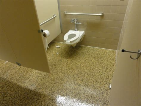 epoxy bathroom tile epoxy resin flooring is suitable for a public bathroom