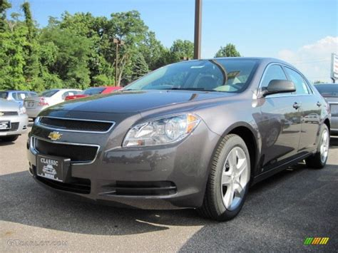 Gray Ls by 2010 Taupe Gray Metallic Chevrolet Malibu Ls Sedan