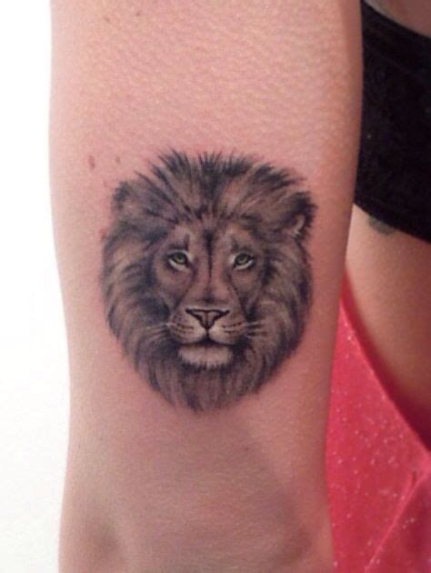 small lion head tattoo 35 cool designs for