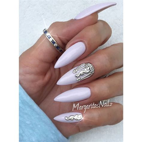 Fashion Nails by Nail Accessories Nail Silver Nail Set Nail Fashion