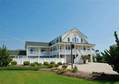 twiddy outer banks vacation home crescent moon corolla