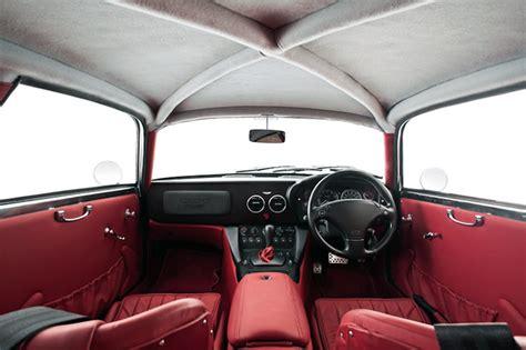 vintage aston martin interior aston martin db7 transformed into a zagato