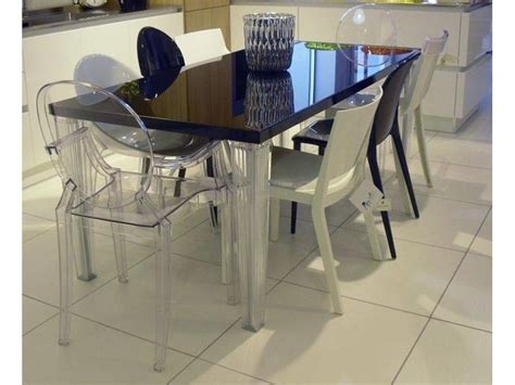 tavolo top top kartell tavolo rettangolare in vetro top top kartell in offerta outlet
