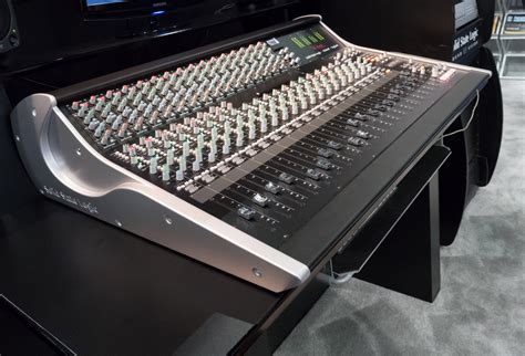 ssl xl desk dimensions rock on show report aes 2014 solid state logic xl desk