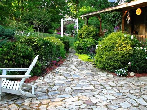 backyard walking paths walk this way pathways to add interest to your garden
