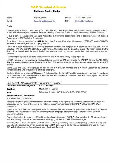 fico consultant sle resume template for a cover letter