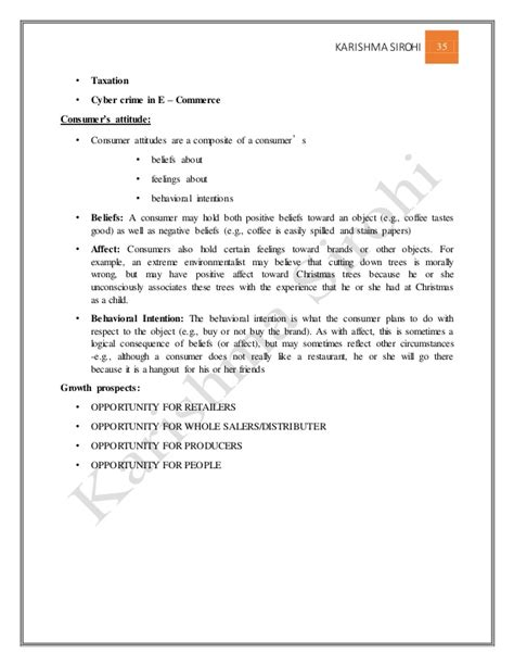 Mba E Business Notes by E Commerce Notes For Mba