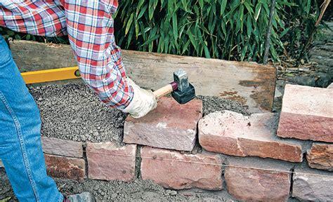gartenmauern machen wir und auch