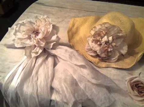 tutorial rose di organza fatto a mano fabbricazione fiori di stoffa youtube