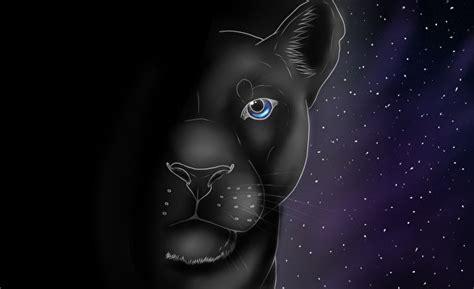 imagenes de fondo de pantalla negras fondos de pantalla grandes felinos pantera negra dibujado
