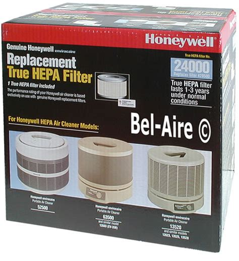 honeywell 24000 hepa filter for f113a6001