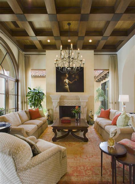 Jauregui Architecture Interiors Construction by Seven Oaks Showcase Mediterranean Living Room