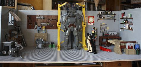 fallout themed room this fallout 4 inspired lego garage is the bomb nerdist