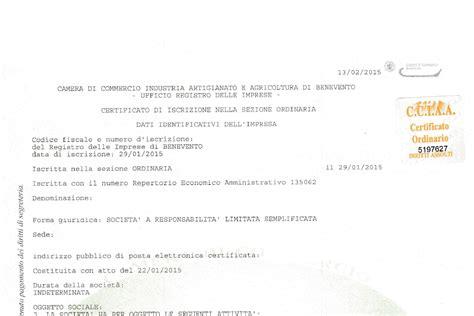 cancellazione di commercio ditta individuale certificato camerale agsimplex