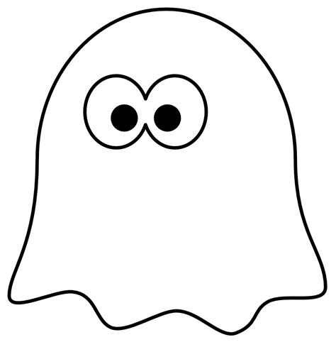 cartoon ghost coloring pages ghost clipart black and white clipart panda free