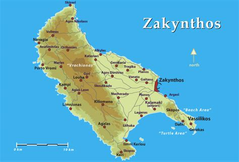 printable map of zante kaart zakynthos rogerlangfordart