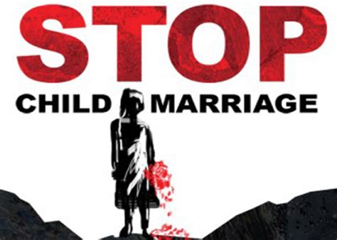 i want slogans on child marriages this is my homework brainly in