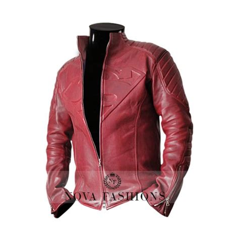Jaket Hm 9 C Superman superman smallville tom welling leather jacket by jerrysommer02 on deviantart
