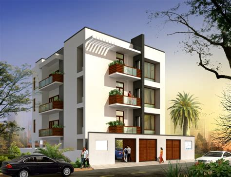 3 Floor Apartment Elevation Joy Studio Design Gallery Apartment Building Design