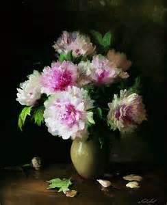 Flower Vase Paintings Serguei Toutounov