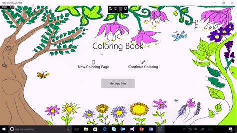 coloring book app source code adding in app purchases to your uwp app one dev minute