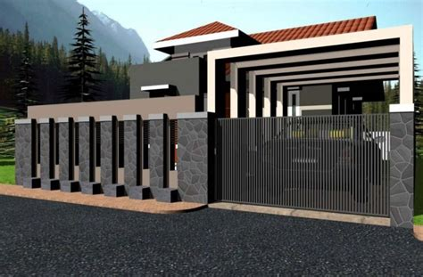 Home Design Door Locks Modern Fence Designs Android Apps On Google Play