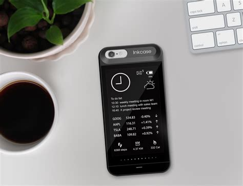 oaxis inkcase  iphone case   ink display