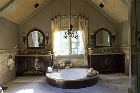 Mediterranean Bathroom Design Tuscan Project Mediterranean Bathroom Chicago By Letitia Holloway