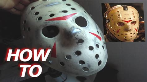 How To Make A Jason Mask Out Of Paper - easy how to make a jason voorhees mask friday the 13th