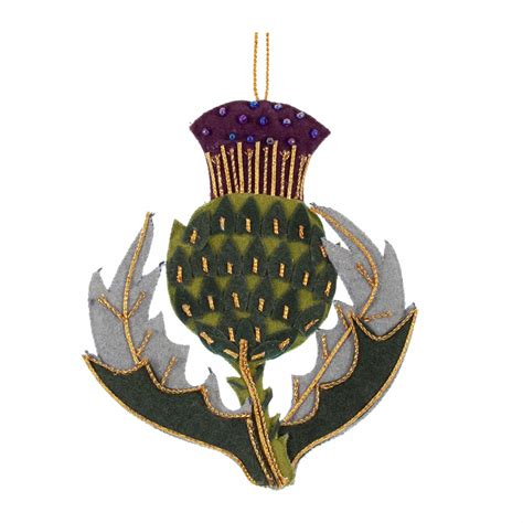 scottish thistle decoration