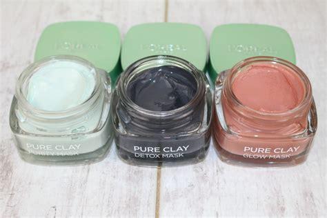 Masker Garnier Pink l oreal clay masks review photos glamglow dupes