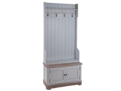 perchero con estante mueble perchero recibidor con puertas y estante vintage