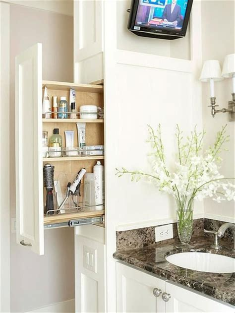 Storage Ideas For Small Bathrooms With No Cabinets 38 Functional Small Bathroom Storage Ideas
