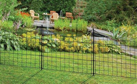 Metal Garden Fencing Ideas Decorative Metal Garden Fence Garden Design Ideas