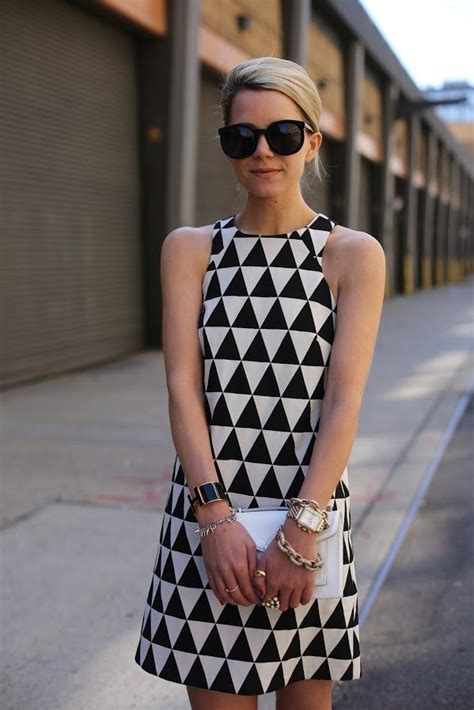 black and white geometric pattern dress asos black and white geometric print dress on the