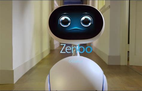 Echo Robot Looks For Other Friendly Bots by Friendly Zenbo Robot Runs Your Home Tells You What To Eat