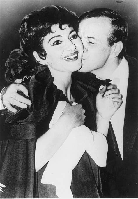 Franco Zeffirelli con Maria Callas (Olympia) | FRANCO