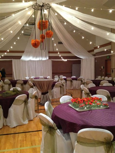 9 best Cultural Hall/Gym Wedding Receptions images on