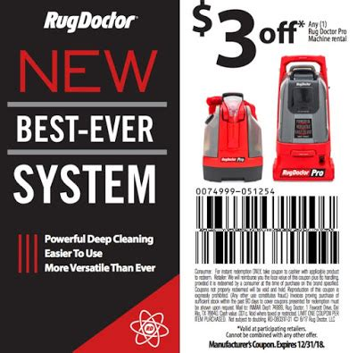 rug doctor discount coupons coupon rug doctor