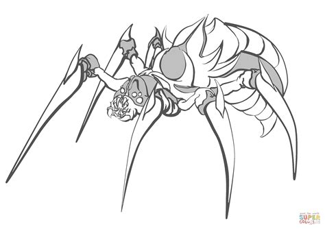 spider coloring page spider coloring page free printable coloring pages