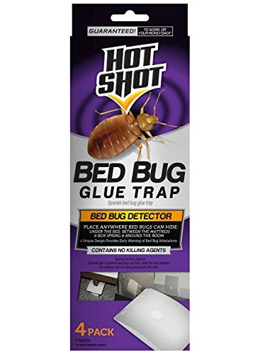 bed bug glue traps hot shot hg 96318 bed bug glue trap 3 packs of 4 count