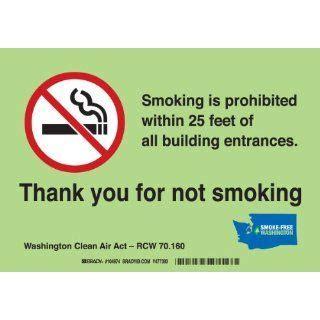 no smoking sign washington state no food no drinking no smoking no cell phones no