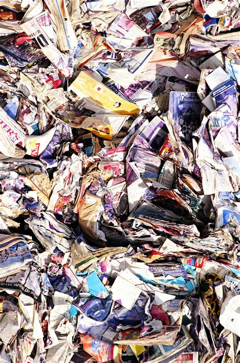 Materials In Paper - waste and secondary materials paper industry world